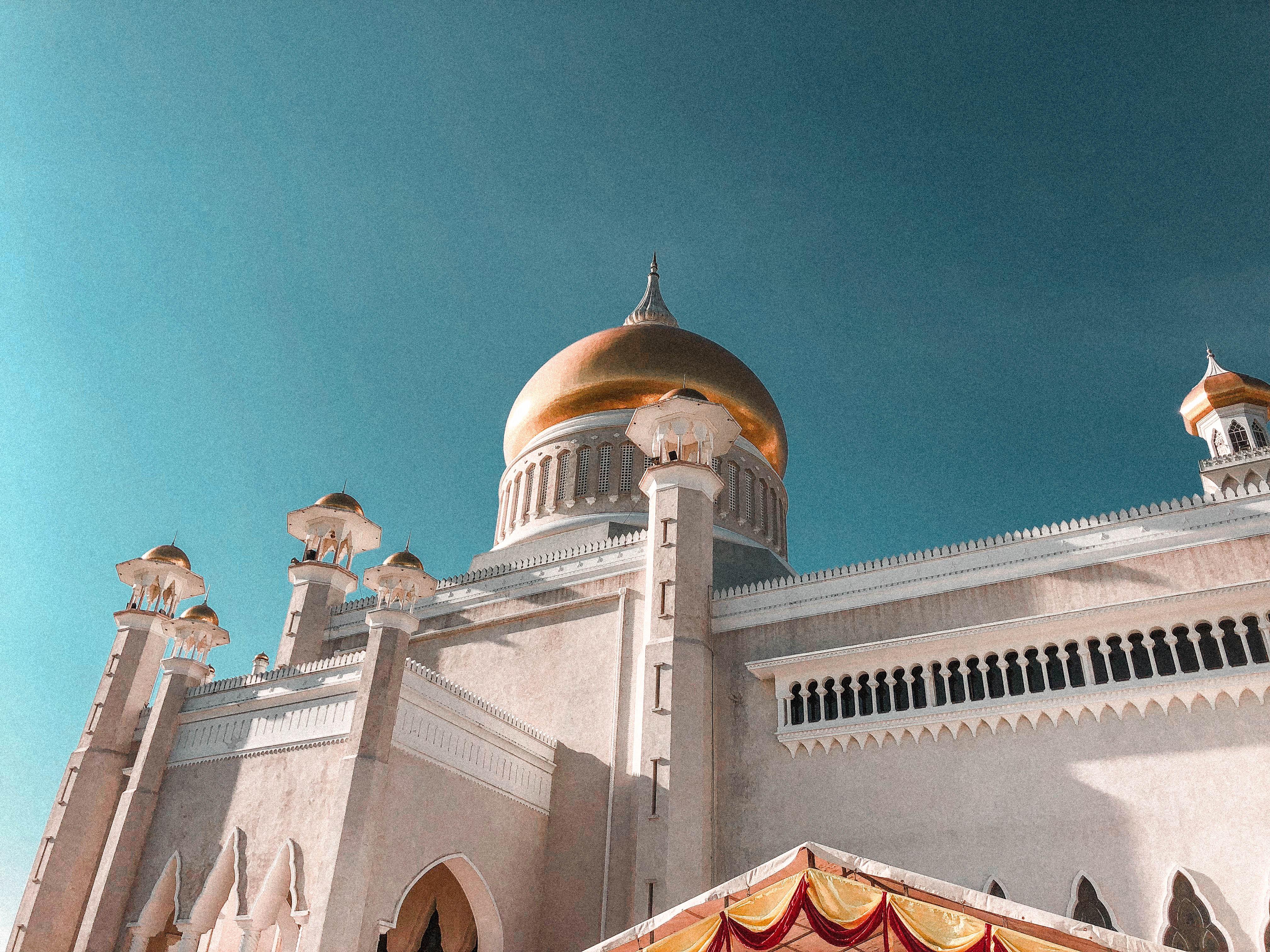 co zobaczyć w brunei? meczet
