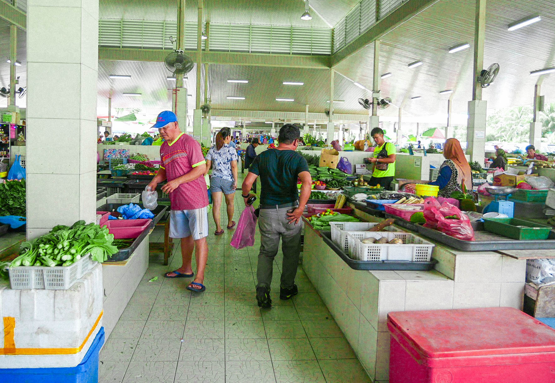 co zobaczyć w brunei? market